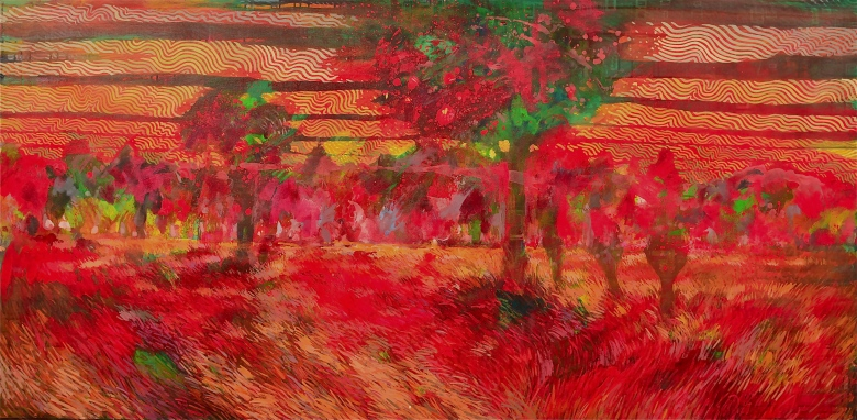 Redeux_Landscape_ Red_36x64